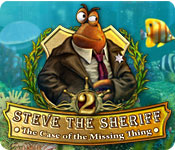 Steve the Sheriff 2: The Case of the Missing Thing ™ Walkthrough