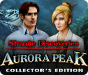 Strange Discoveries: Aurora Peak Collector's Edition Game Featured Image