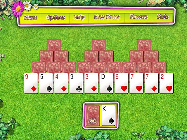 summer tri peaks solitaire