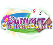 Summer Tri-Peaks Solitaire Game Featured Image