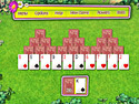 in-game screenshot : Summer Tri-Peaks Solitaire (pc) - Take on Summer Tri-Peaks Solitaire!