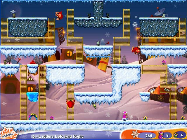 Super Granny Winter Wonderland Screenshot http://games.bigfishgames.com/en_supergrannywinterw/screen1.jpg