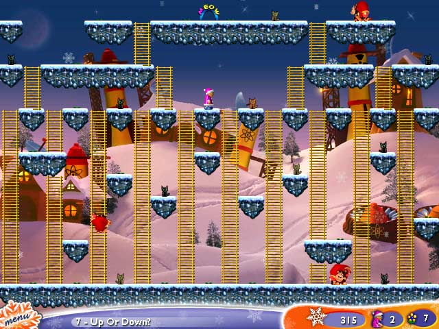 Super Granny Winter Wonderland Screenshot http://games.bigfishgames.com/en_supergrannywinterw/screen2.jpg
