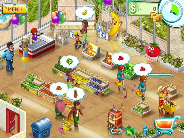 Gra Supermarket Mania ® 2 Gra Bezpłatne