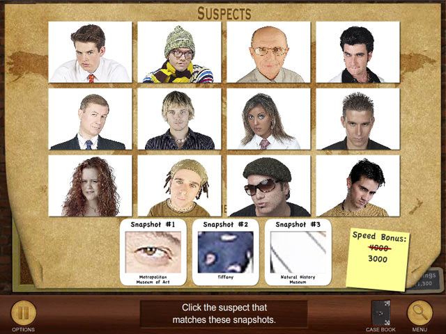 Click To Download Suspects and Clues