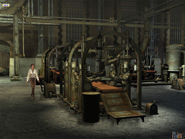 Syberia - Part 1 - Screenshot