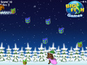 in-game screenshot : Teddy Bear's Christmas (og) - Collect presents for the kids!