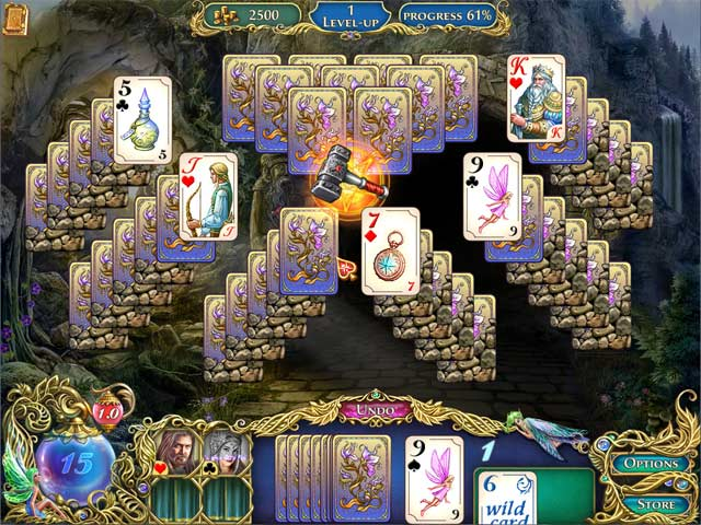 Gra The Chronicles of Emerland Solitaire Gra Bezpłatne