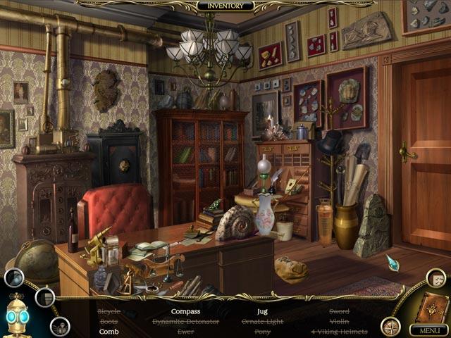Gra The Clockwork Man: The Hidden World Gra Bezpłatne