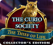 The Curio Society: The Thief of Life Collector's Edition Game Featured Image
