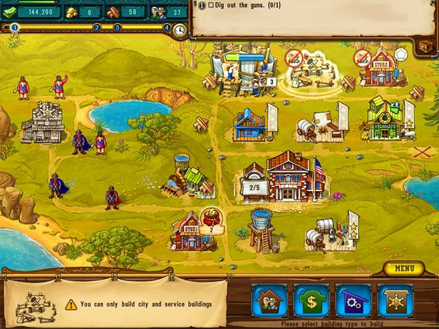 The Golden Years: Way Out West - Screenshot