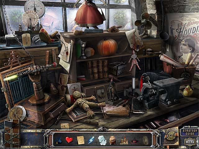 Gra The Great Unknown: Houdini's Castle Collector's Edition Gra Bezpłatne