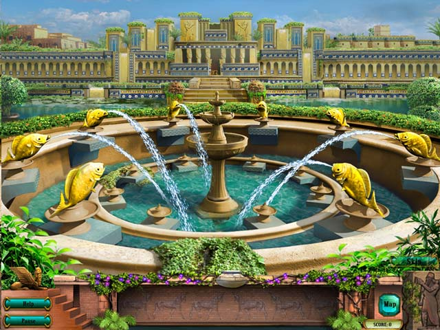 Bezpłatne pobieranie Hanging Gardens of Babylon