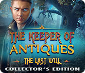 The Keeper of Antiques: The Last Will Collector's Edition Game Featured Image