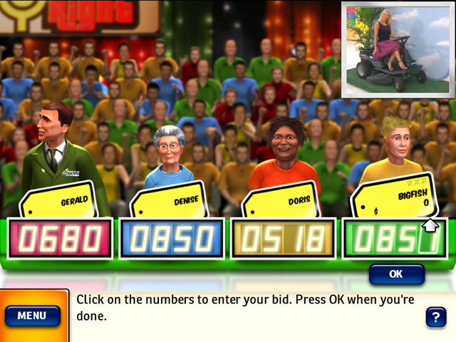 thepriceisright game