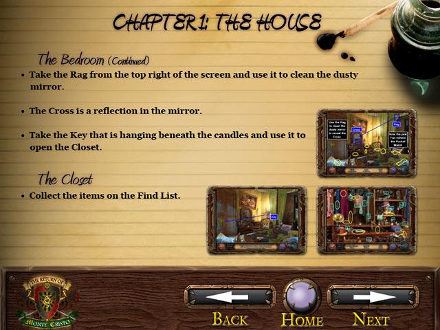 The Return of Monte Cristo Strategy Guide Screenshots