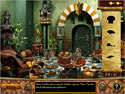 in-game screenshot : The Sultan's Labyrinth (pc) - Help find Princess Sadira`s new husband.