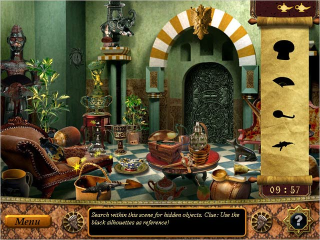 Bigfish Games + The Sultan's Labyrinth + New Hidden Object + Indianboy preview 0