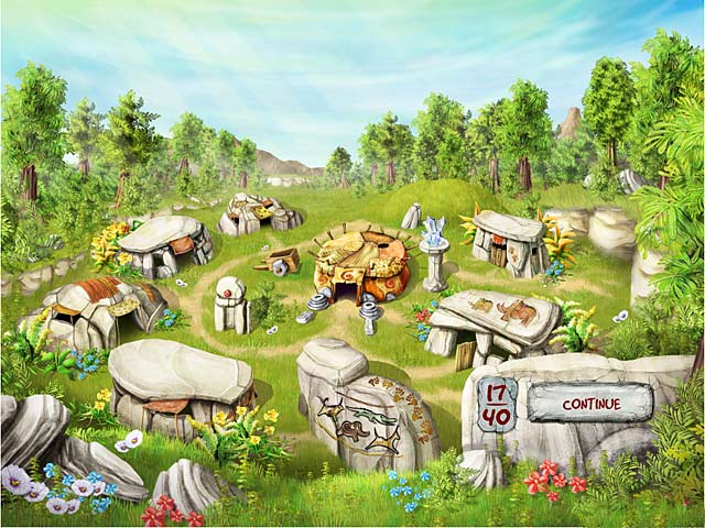 Gra The Timebuilders: Caveman's Prophecy Gra Bezpłatne