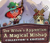 Buy PC games online, download : The Witch's Apprentice: A Magical Mishap Collector's Edition