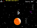 in-game screenshot : They Came From Planet X! (og) - Planet X is attacking. Engage, captain!