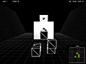 in-game screenshot : Through Walls (og) - Three dimensions of puzzling fun!