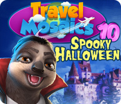 Buy PC games online, download : Travel Mosaics 10: Spooky Halloween