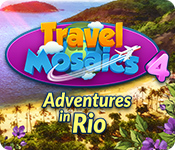 Buy PC games online, download : Travel Mosaics 4: Adventures In Rio