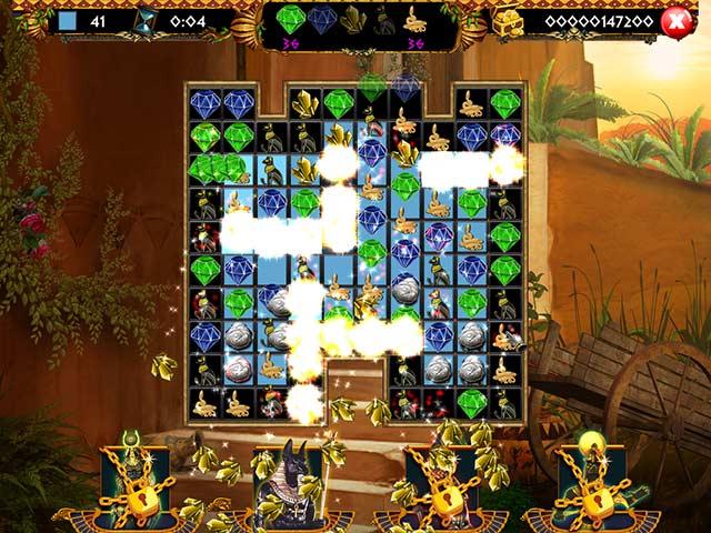 egyptian treasure game