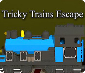 Tricky Trains Escape - Online