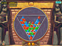 in-game screenshot : Trijinx (og) - Twisting, tumbling puzzle fun.