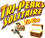 Tri-Peaks Solitaire To Go Feature Game