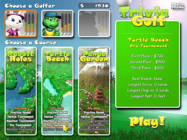 Bezpłatne pobieranie Trivia Golf