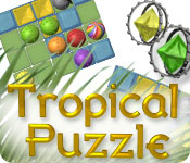 Tropical Puzzle Game Featured Image