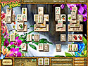 in-game screenshot : Tropico Jong: Butterfly Expedition (pc) - A Mahjong journey full of new species.