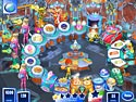 in-game screenshot : Turbo Fiesta (pc) - A gastronomical Time Management game.