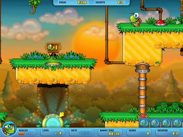 Turtix 2: Rescue Adventures Screenshot http://games.bigfishgames.com/en_turtix-2-rescue-adventures-game/screen2.jpg