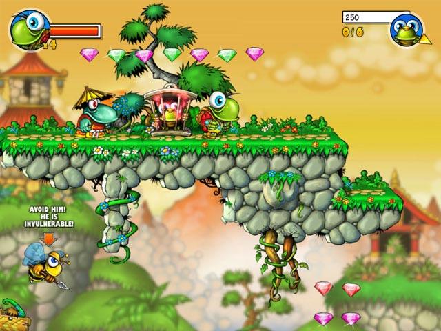 Cool  اللعبة الممتعة والمسلية جدا Turtix بحجم 25 ميجا وعلى اكثر من سيرفر   Screen1