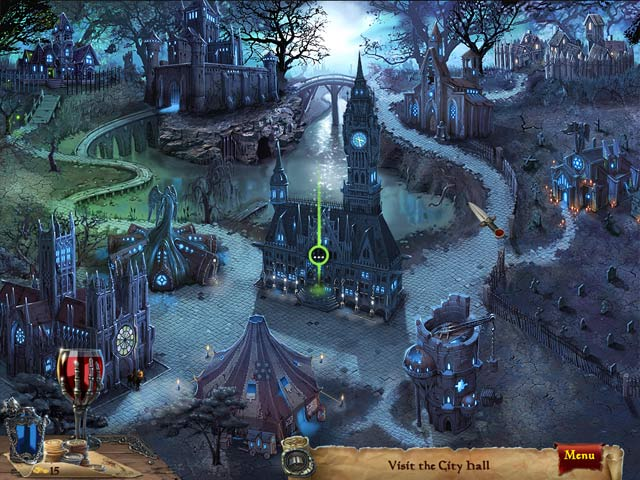 Twilight City: Love as a Cure Game Play
