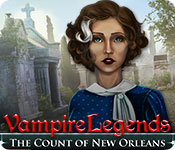 Vampire Legends: The Count of New Orleans Game Featured Image