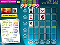 Screenshot: Vegas Poker Solitaire Game