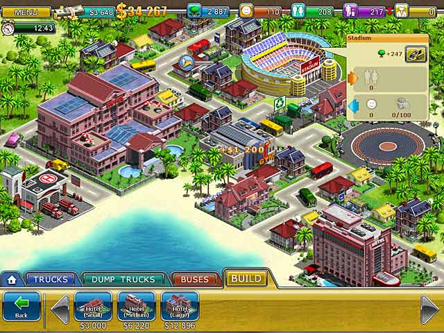 Gra Virtual City 2: Paradise Resort Gra Bezpłatne