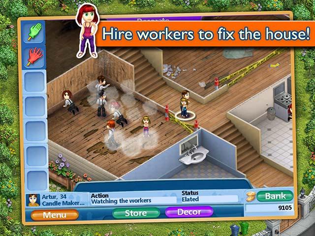 Virtual Families 2: Our Dream House Game Play