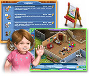 Dator spele: : Virtual Families 2: Our Dream House