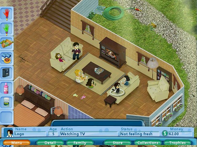 Virtual families game download and play free version for House decoration simulator