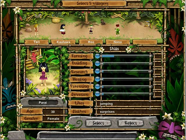 Virtual Villagers: New Believers - Explore the center of Isola!