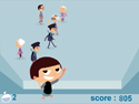 in-game screenshot : Water Bag Thrower (og) - Toss water balloons at helpless victims!