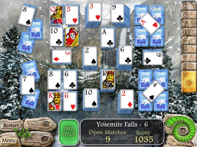 Play  Waterscape Solitaire: American Falls