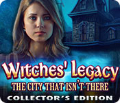 Witches' Legacy: The City That Isn't There Collector's Edition Game
