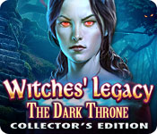 Witches' Legacy: The Dark Throne Collector's Edition Game Featured Image